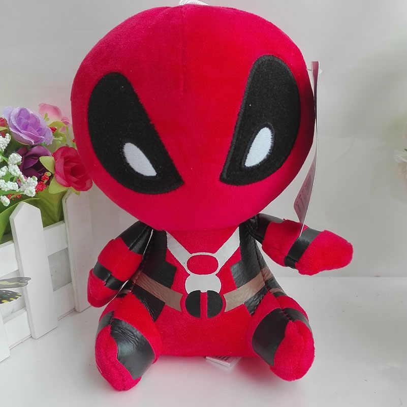 ... Iron man Spider man Captain American Hulk Dead Pool Plush Toy Ty Beanie  Baby 15 cm 362b9f96e611