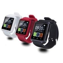 Bluetooth Smart часы U8 наручные часы U8 SmartWatch для iPhone 4/4S/5/5S/6 и samsung S4/Note/S6 HTC телефона Android SmartWatch