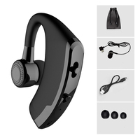 V9 Handsfree Business Bluetooth Headphone With Mic Voice Control Wireless Bluetooth Headset For Drive Noise Cancelling