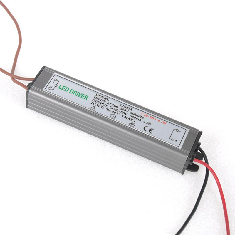 PHISCALE 18-25W LED Driver Power Supply Waterproof IP67 Constant Current AC100-260V 300mA For 18-25W LED Bulb 70w led driver dc54v 1 5a high power led driver for flood light street light constant current drive power supply ip65