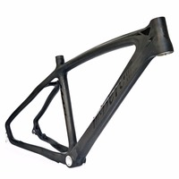 BEIOU 3k Carbon Fiber Mountain Bike Frame T800 Ultralight 26 Inch MTB Matte Unibody Internal Cable