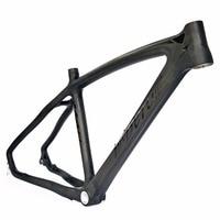 BEIOU 3k Carbon Fiber Mountain Bike Frame T800 Ultralight 26 Inch MTB Matte Unibody Internal Cable