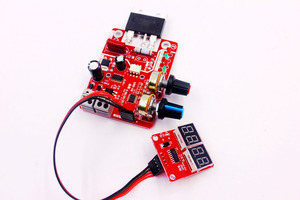 Image 3 - Spot Welders control Board 100A Digital display Spot welding time and current controller panel timing Ammeter