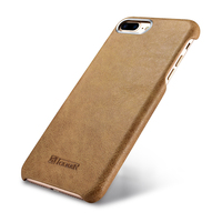 Genuine Leather Back Cover For Apple IPhone 7 Plus Case Luxury Slim Vintage Hard Shell For
