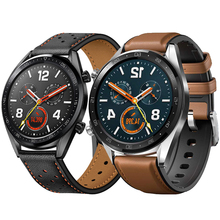 22mm Strap for Huawei Watch GT samsung galaxy watch 46mm S3 Frontier belt leather watch band huami amazfit 1/2 Bracelet watch band for 22mm samsung gear s3 real leather with silicone watch strap for huawei watch 2pro wrist belt for huami amazfit 1