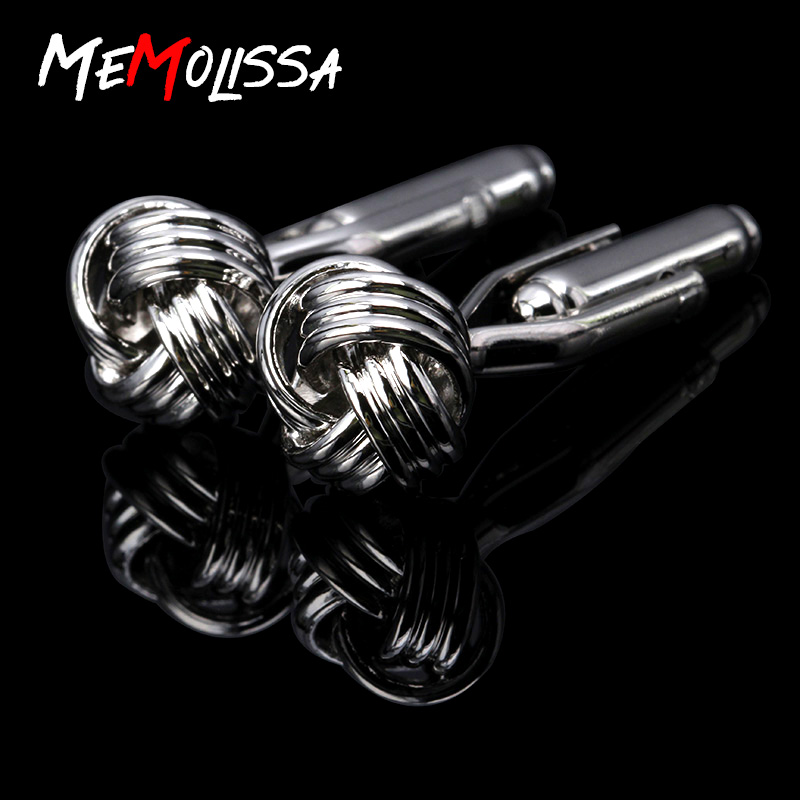 MeMolissa Brand Formal Laser Shirt Cufflinks for Men Jewelry Wedding Groom Brass Cuff Links French Business Abotoaduras Gift
