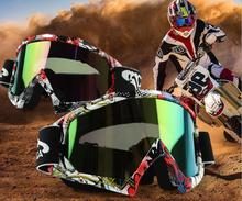 NEW motorcycle glasses snowboard ski men outdoor Eyewear motocross Anti-fogging goggles