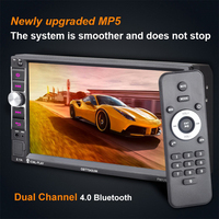 Supports Mirror Link Android 5 0 HD Car Radio 2 Din 7 Inch MP5 MP4 Player