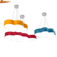 HGhomeart Children Cartoon Chandeliers Simple Modern Led Bedroom Room Lights Creative Personality Amusement Park Lights