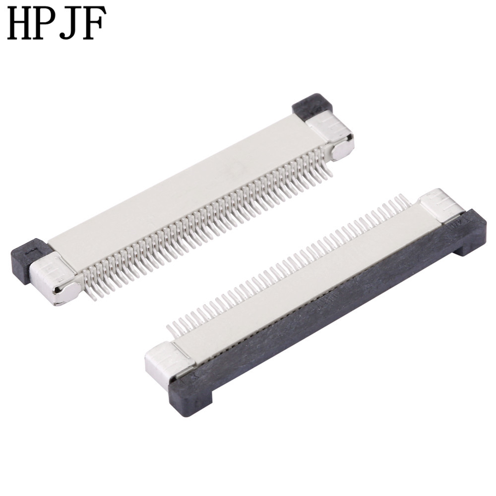 0 5mm Pitch FPC Connector Drawer Type Ribbon Flat Upper Cable Holder 4 6 8 10 12 14 16 18 20 22 24 26 28 30 32 36 40 50 54 60Pin in Connectors from Lights Lighting