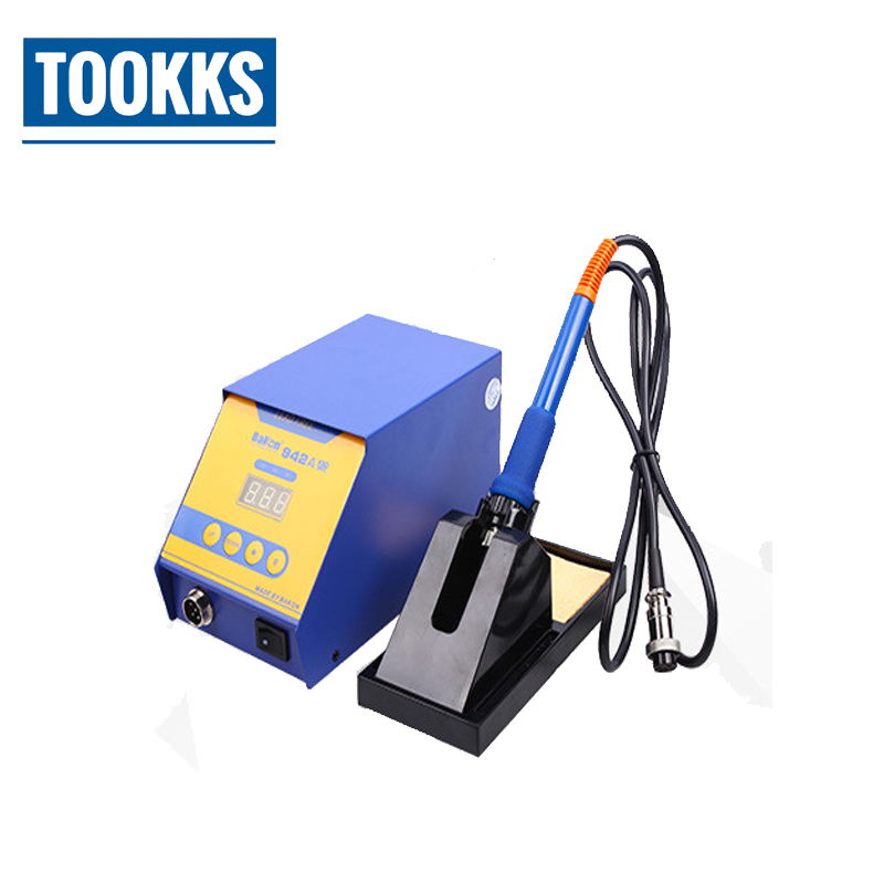 90W Digital soldering iron BK942A Lead Free soldering station Welding Iron for BGA Rework Repair AC220V 50HZ цена