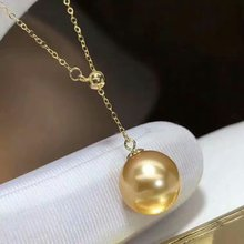 shilovem 18k yellow gold real Natural  freshwater pearls pendants fine Jewelry women trendy new gift yzz10-10.5009zz