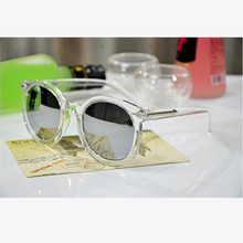 Fashion Multicolour  Mercury Mirror Glasses Men Sunglasses Women Male Female Coating Sunglass Gold Round Oculos De Sol Feminino