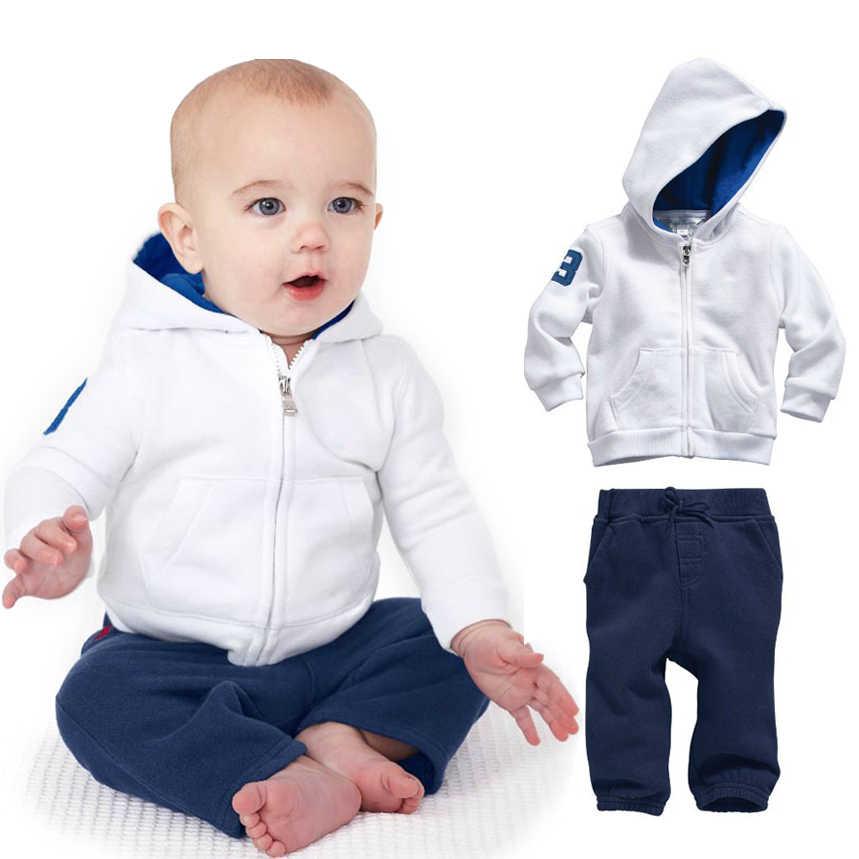 3d52dd68614b Комплект одежды для маленьких мальчиков и девочек, белая детская зимняя  коллекция 2019 года, брендовая