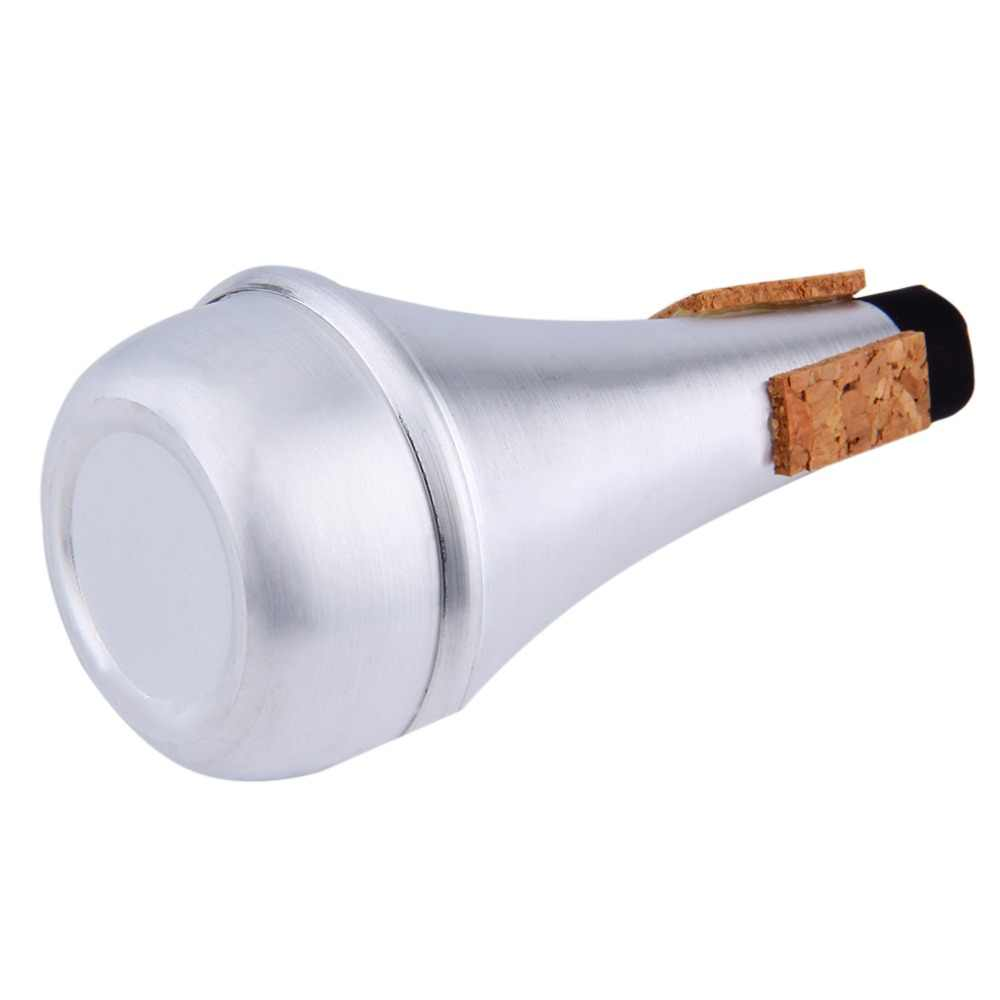 Aluminium Gerade Trompeten Stumm Für Jazz Instrument Praxis Anfänger Heißer Verkauf