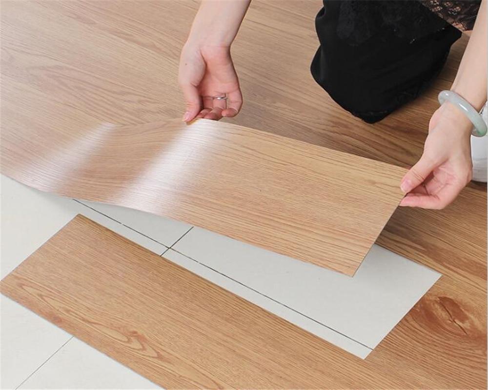 beibehang Self adhesive pvc floor stone plastic plastic floor leather thick wear resistant anti slip plastic waterproof floor