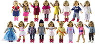 New Style 5 Set Doll Clothes For 18 American Girl Handsome Casual Wear