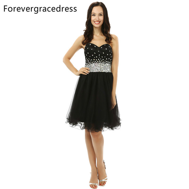 Forevergracedress 2017 Pretty Short Prom Dress Knee Length ...