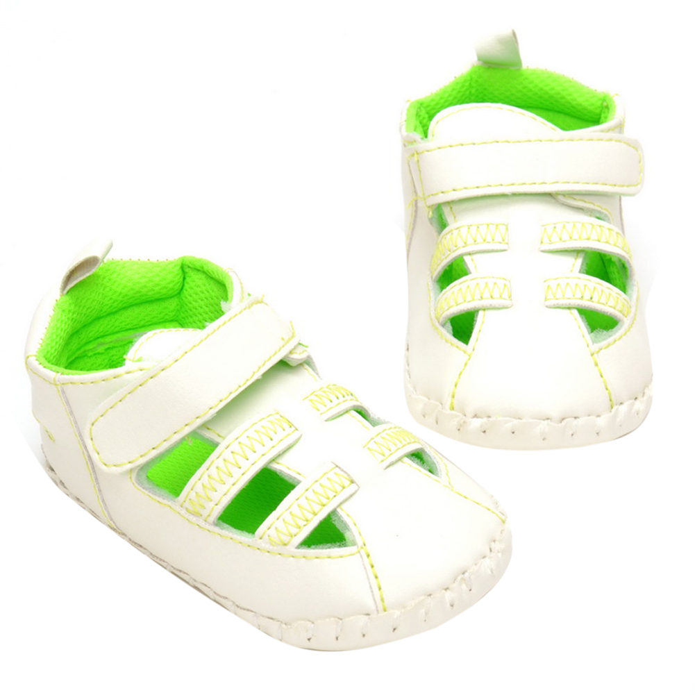 New Spring Summer Shoes Boys Soft Leather Shoes Baby Boys Summer Prewalker Soft Sole Genuine Leather Beach Shoes