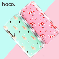 Aigo 10000MAH Colorful Floral Printed Battery Mobile External Power Bank 2 USB Ports Battery Charger For