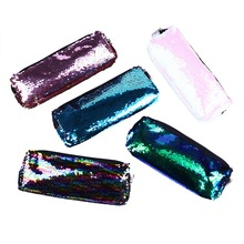 1Pc Sequin Pencil Case For Girls School Supplies Large Capacity School Stationery Gift Pencil Box Pencilcase