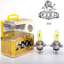 цена на 2Pcs Car Styling H4 12V 100W 2800K 2400Lm Car Super yellow Light Bulbs  Head Light Bulbs Free transportation