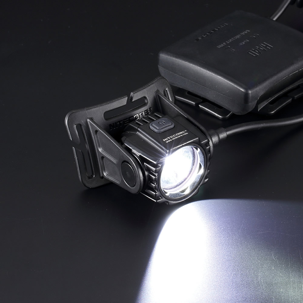 Free Shipping Nitecore HA40 1000 Lumens Headlamp Without 4xAA Battery Waterproof Head Light for Outdoor Late Night Walker Runner