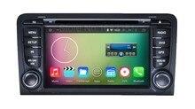 Quad core 1024*600 Android 5.1.1 Jogador Rádio Do Carro DVD para Audi A3 2003 2004 2005 2006 2007 2008 2009 2010 2011 com WiFi GPS BT