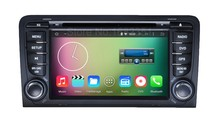 Quad core 1024* 600 Android 5.1.1 Car DVD Radio Player for Audi A3 2003 2004 2005 2006 2007 2008 2009 2010 2011 with WiFi BT GPS