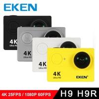 100% Original EKEN Ultra HD 4K Video 170 degree Wide Angle Sports Cam 2 inch Screen 1080p 60fps action Camera H9 / H9R 5pcs/lot