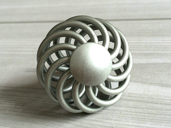 Silver Dresser Drawer Knobs Pulls Handles Wrought Iron Look Shabby Chic Kitchen Cabinet Door Knobs  Hardware Rustic Cottage Chic rhinestone crystal kitchen cabinet door knobs handle drawer handles dresser pulls shabby chic glass knobs silver white clear