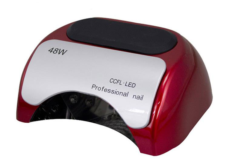 48W CCFL+ LED UV Lamp for Nail Art EU AU US UK Plug Red/White/Black Automatic Gel Curing LED Light Nail Polish Lamp Nail Dryer 48w nail polish gel art tools professional ccfl led uv lamp light 110 220v nail dryer automatic induction 10s 20s 30s timer