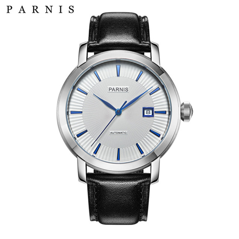 Fashion Men Watches 41mm Parnis 21 Jewels Japan Automatic Movement Sapphire crystal Men s Wrist watch
