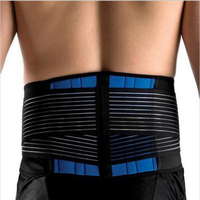 Fully Adjustable Back Support Brace Scoliosis Posture Corrector Waist Shoulder Band Belt