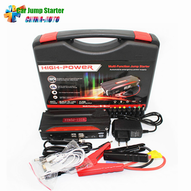 2018 New High Power Multi-function Portable Car Jump Starter Power Bank Emergency 12V Car Battery Jump Starter Booster цена