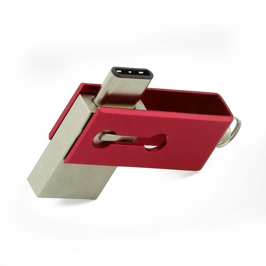 High Speed TYPE C USB 3 1 OTG Flash Drive 64GB Pen Drive 32GB U font
