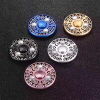 5PCS New 27 Beads Hand Spiner Aluminium Alloy Sophisticated High Speed Metal Steel Balls Fidget Spinner