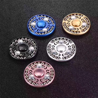 5PCS New 27 Beads Hand Spiner Aluminium Alloy Sophisticated High Speed Metal Steel Balls Fidget Spinner