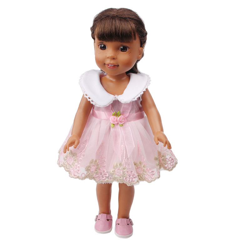 Doll dresses fit the 14.5-inch's doll dress children s toys accessories children's holiday gifts x23