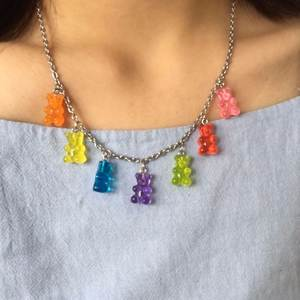 colorful bling Stainless Steel Necklace Pendant Jewelry