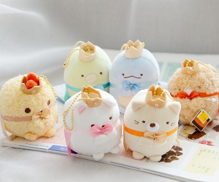 Sammeln & Seltenes Stofftiere & Plüsch 10 Cm Sumikkogurashi Crown Schals Anime Plüsch Puppen Nette Ornament Puppe Kette Anhänger Schöne Cartoon Spielzeug X Mas Geburtstag Geschenke Neue