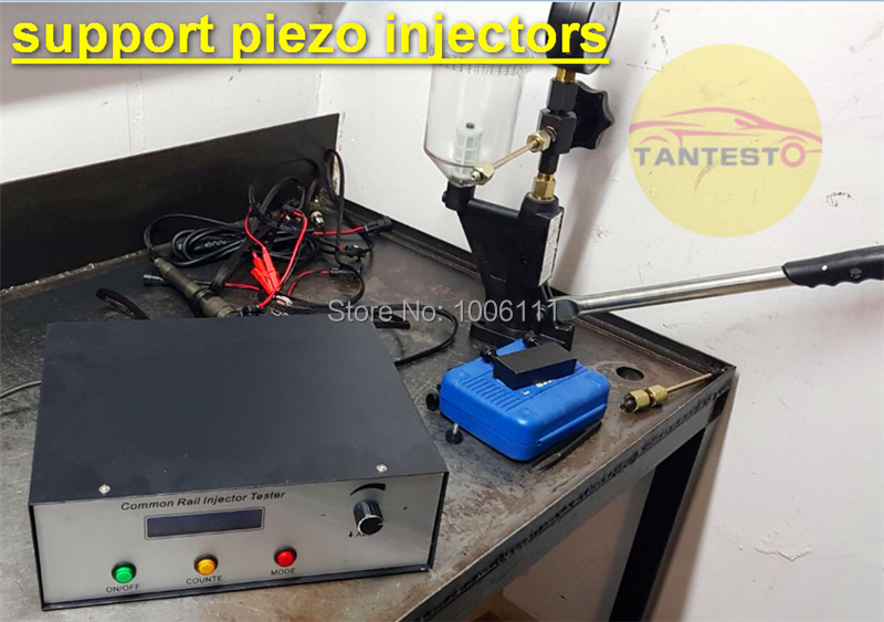 цена на AM-CRI200 common rail piezo injector nozzle tester for BOSCCH, DENSSO, DELPHII, SIMENSS, CATT, common rail injector repair tool