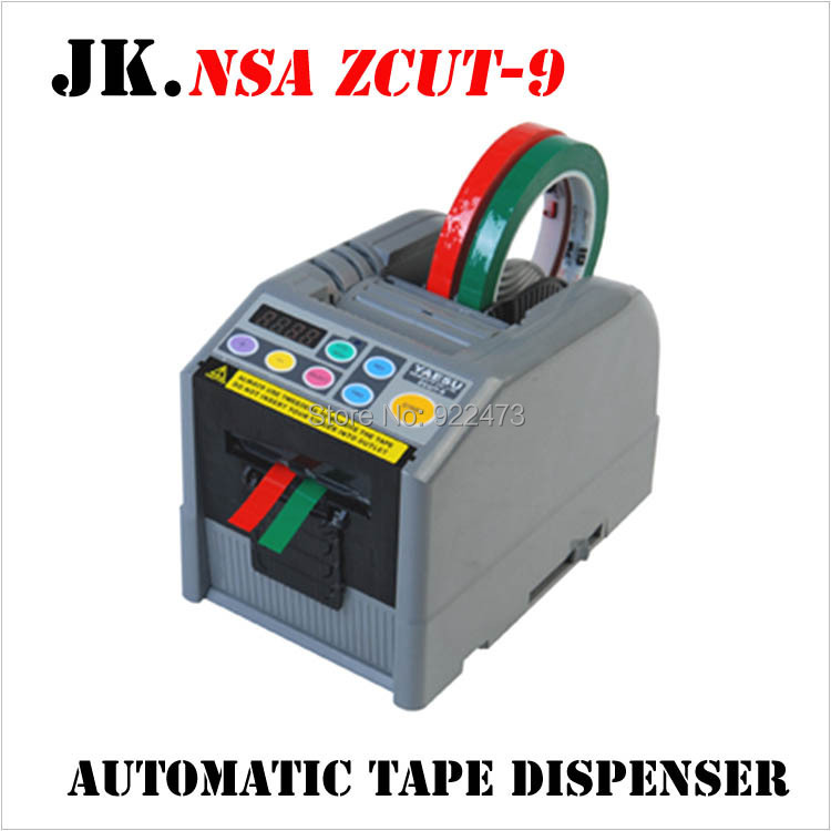 P173 NSA ZCUT-9 Automatic Tape Dispenser Automatic Tape Cutting Machine, 6-60mm width, 5-999mm length 110V/220V EU/US PLUG automatic tape dispenser zcut 9 tape cutter 6 lengths memory function 60mm width tape max tape roller dia 300mm page 2