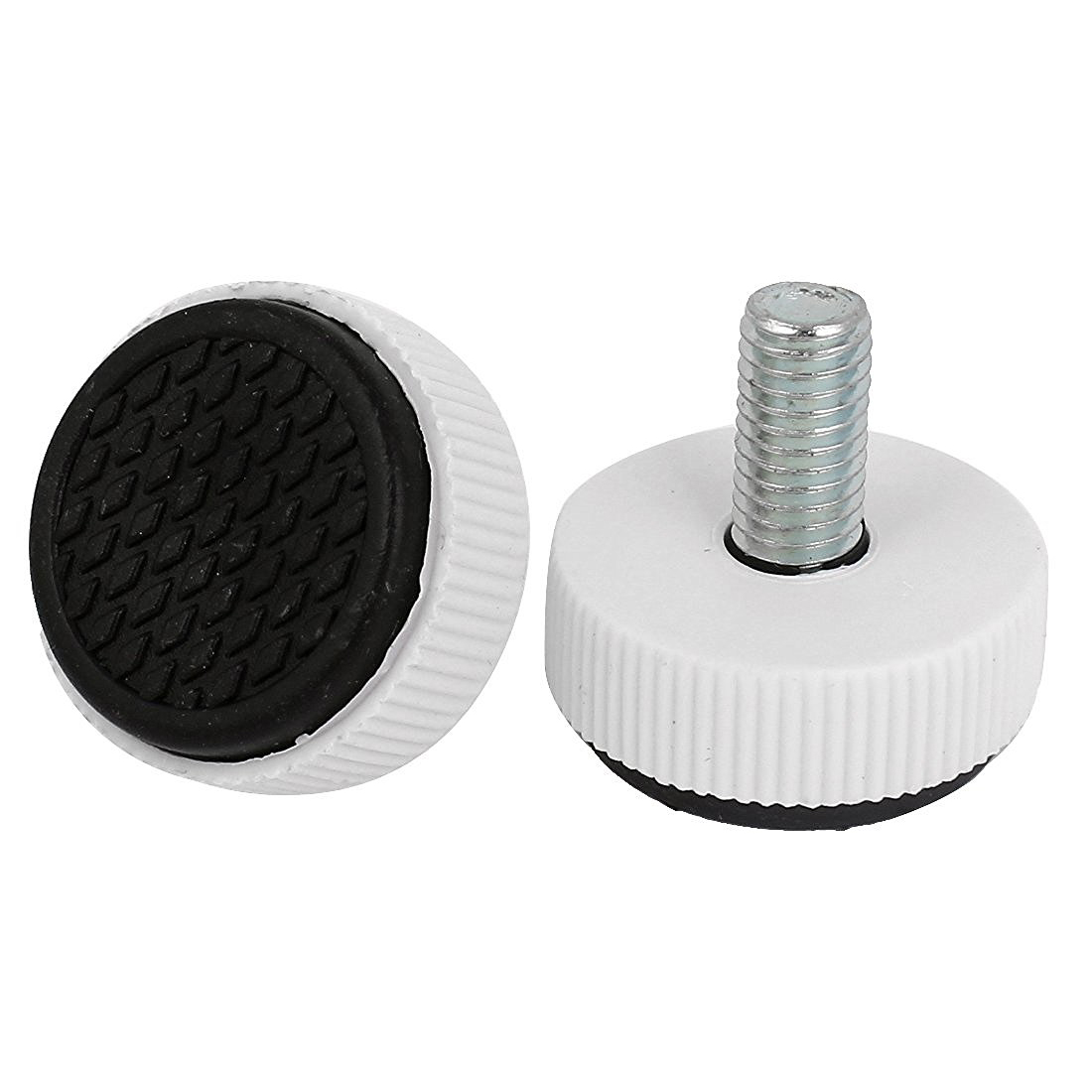 Imported From Abroad Hot Sale M8 X 15mm Adjustable Screw On Furniture Glide Leveling Feet Leg 10pcs Driving A Roaring Trade Furniture Toys