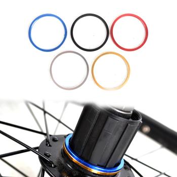 MUQZI 5 sztuk MTB wspornik dolny roweru oś bb podkładka piasty koła zamachowego koła zamachowego stopu uszczelka szosowe praktyczne akcesoria tanie i dobre opinie Rowery górskie Bicycle axis washer Hubs Washer Flywheel washers
