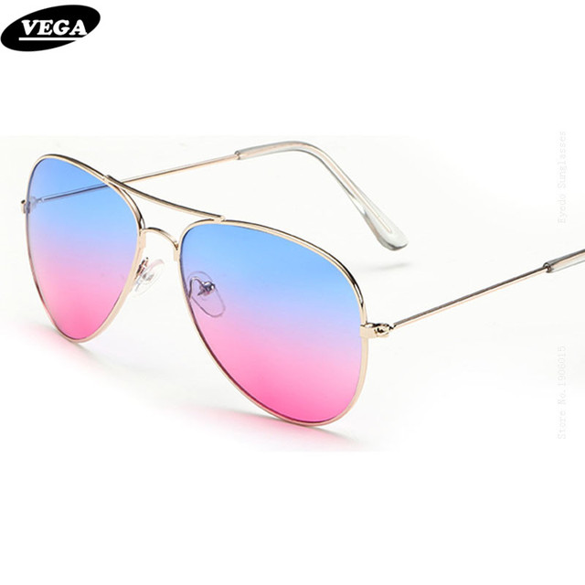 68729b92199 VEGA Men Women Ladies Sunglasses For Lovers Nice Sandy Beach Flat Top Sun  Glasses Female Real