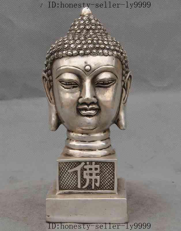 christmas tibet buddhism silver sakyamuni Shakyamuni buddha head statue seal stamp signet halloweenchristmas tibet buddhism silver sakyamuni Shakyamuni buddha head statue seal stamp signet halloween