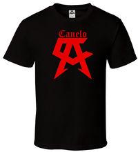CANELO - Black T-shirt Red Saul Alvarez Boxing Champ Team All Sizes S-2XL Harajuku Tops Fashion Classic Unique free shipping
