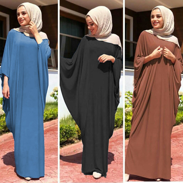 Kaftan Abaya Dubai Arabic Islam Turkey Long Hijab Muslim Dress Ramadan Abayas For Women Caftan Marocain Turkish Islamic Clothing 1