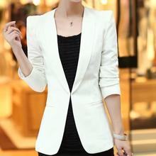 Размера плюс 5XL! Женские блейзеры для работы, офиса, одежда с длинным рукавом, маленький костюм, кардиган, Официальный Блейзер, куртки для женщин